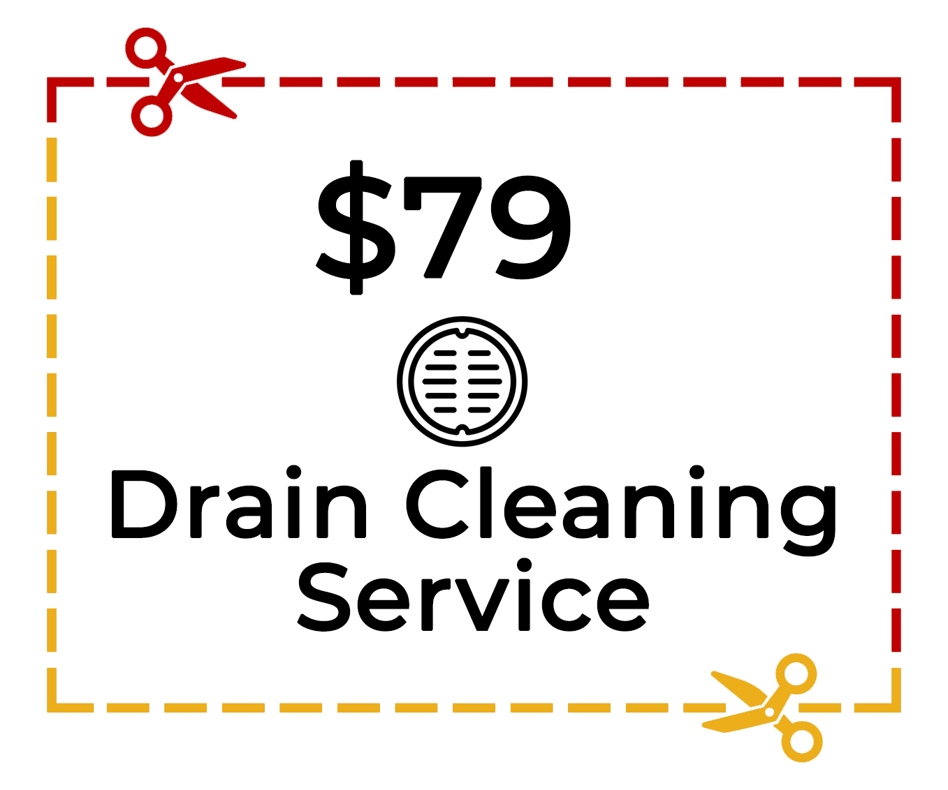 drain cleaning plumbing specials